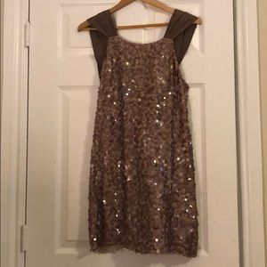 Sequined party dress by BCG Max Azria